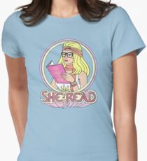 She-Read Women's Fitted T-Shirt