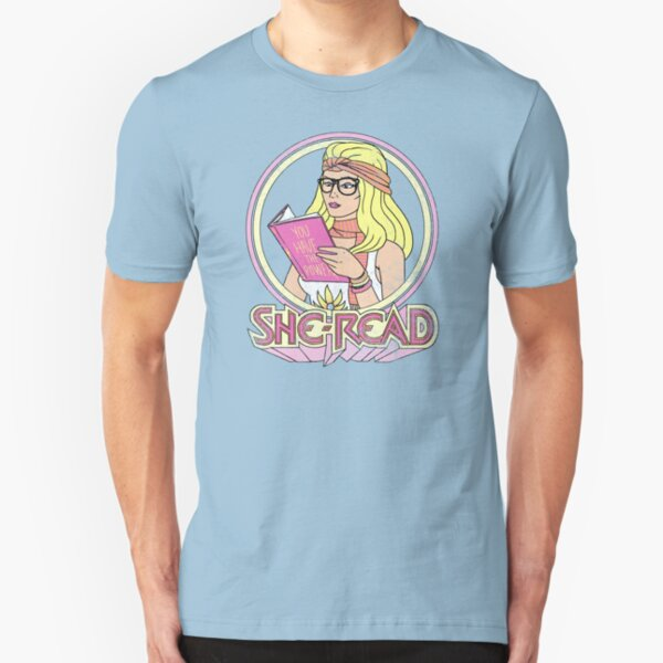 She-Read Slim Fit T-Shirt