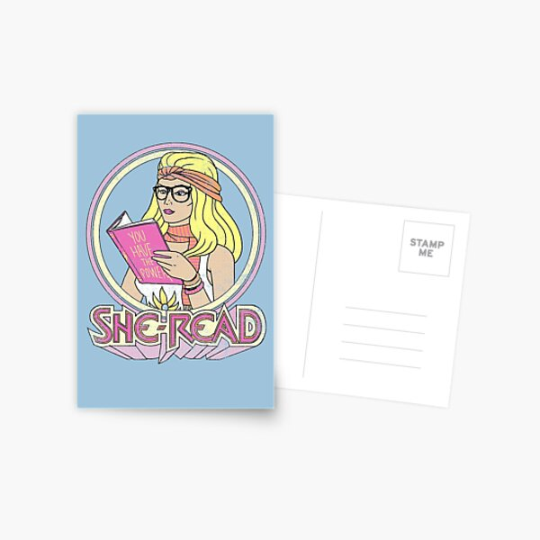 She-Read Postcard