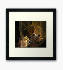 Peace In The Storm Framed Print