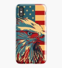 American Patriotic Eagle Bald iPhone Case