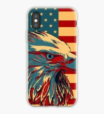 American Patriotic Eagle Bald iPhone Case
