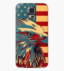American Patriotic Eagle Bald Case/Skin for Samsung Galaxy