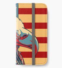 American Patriotic Eagle Bald iPhone Wallet/Case/Skin