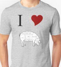 I Love Pork T-Shirt