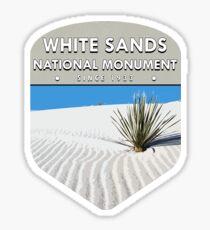 White Sands National Monument Sticker