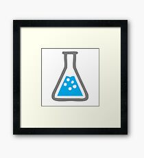 Science, Beaker, Glass, Water Framed Print