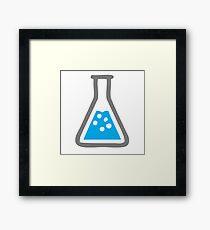 Science, Beaker, Glass, Water Framed Print
