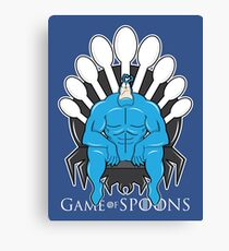 Game of Spoons Canvas Print