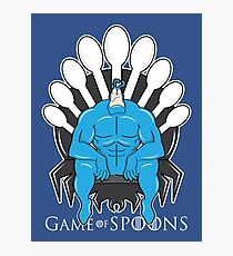 Game of Spoons Photographic Print