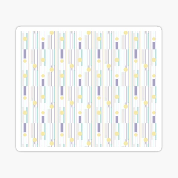 STRIPES FORM Sticker