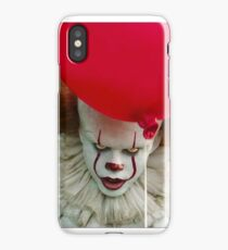 Clown and balloon iPhone Case/Skin