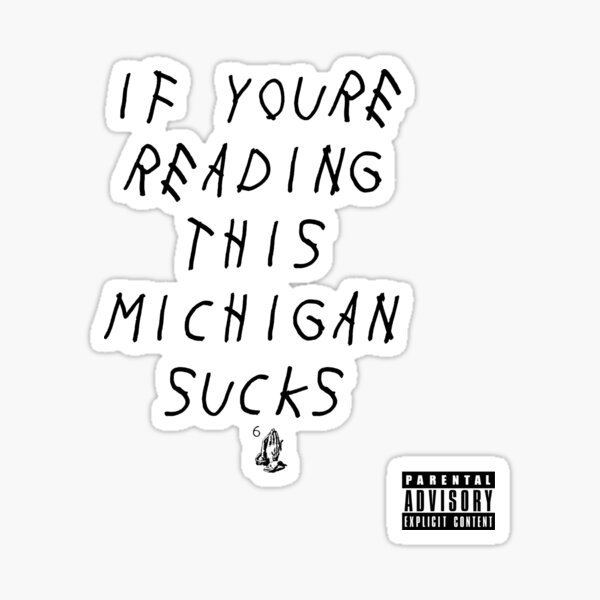 Muck Fichigan  Sticker