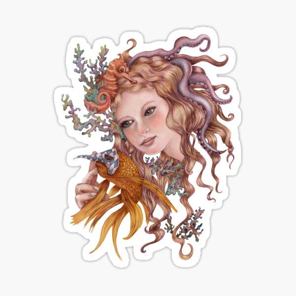 Sea Nymph Sticker