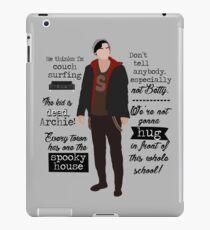 Jughead's quotes (Riverdale) iPad Case/Skin