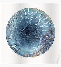 Capricorn & Aquarius friendship Poster