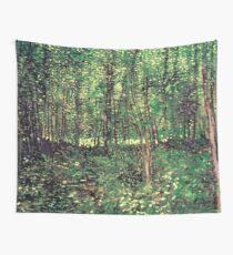 Trees and Undergrowth Wall Tapestry