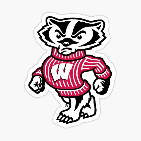 Wisconsin Badger  Sticker