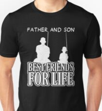 Father and Son Fishing-Best Friends for Life T-Shirt