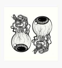 Eye Ball Art Print