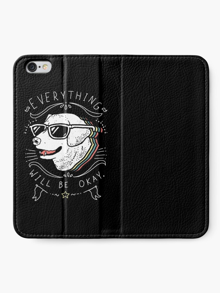 Alternate view of Dog Shirt iPhone Wallet