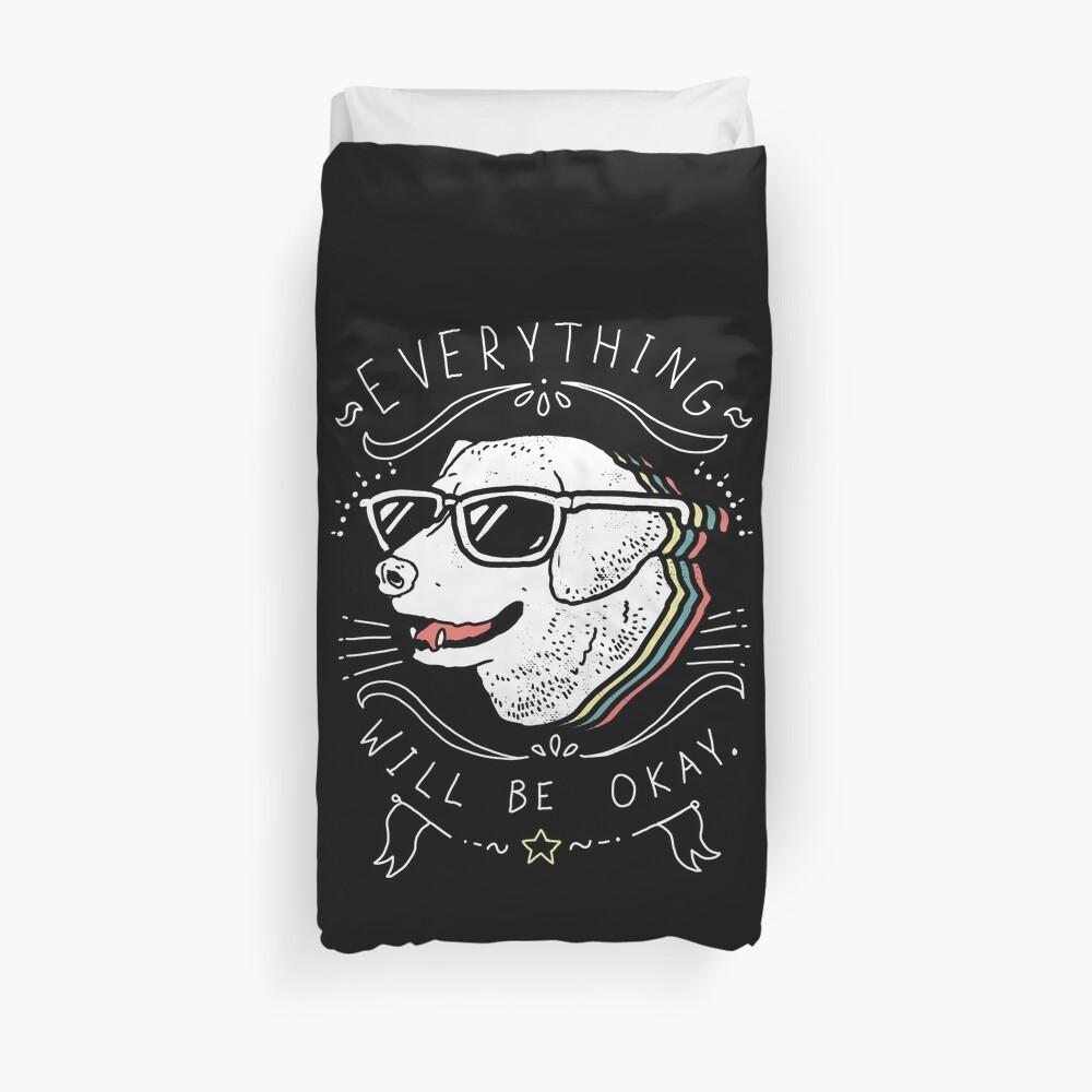 Dog Shirt Duvet Cover
