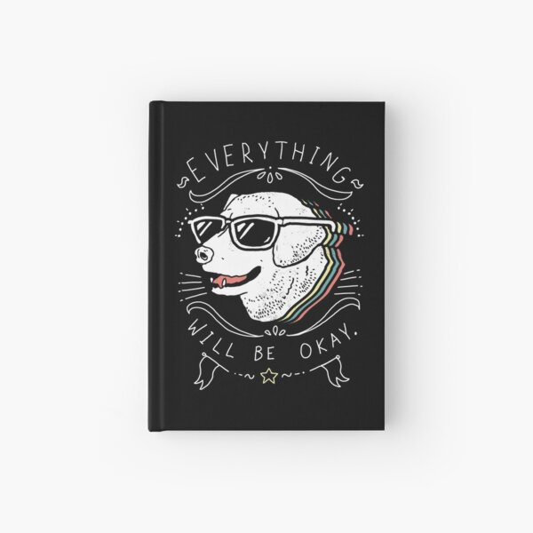 Dog Shirt Hardcover Journal