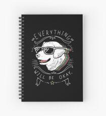 Dog Shirt Spiral Notebook