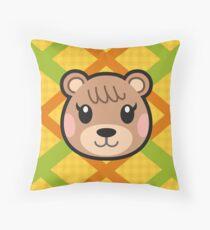 MAPLE ANIMAL CROSSING Throw Pillow