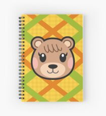 MAPLE ANIMAL CROSSING Spiral Notebook