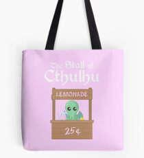 The Stall of Cthulhu Pink Lemonade 3 Tote Bag