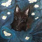 Scottie puppy by Elena Adam
