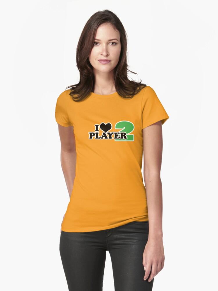 I Heart Player 2 (b) by cudatron