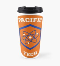 It takes a real genius to go here Travel Mug