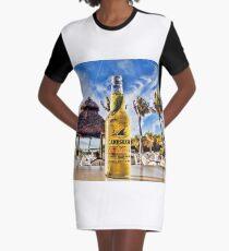 Happy Hour Graphic T-Shirt Dress