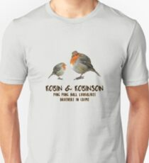 Robin & Robinson / Ping Pong Ball Lookalikes / Brothers in Crime T-Shirt