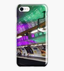 Metro Goncourt a Paris iPhone Case/Skin