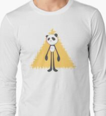 Pandalien glitch yellow T-Shirt