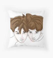 kaisoo Throw Pillow