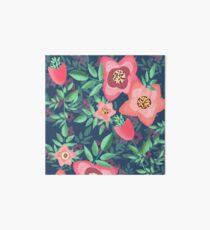 flores abstractas Art Board