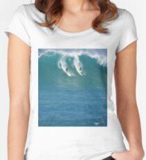 Mick Fanning Waimea Bay Women's Fitted Scoop T-Shirt