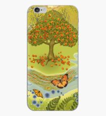 Magic forest iPhone Case