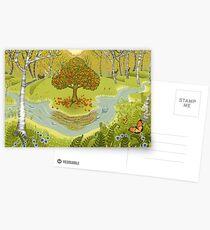 Magischer Wald Postkarten