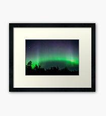 Ribbon of Aurora Close Up Framed Print