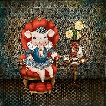 Princess Piggy by Ruta