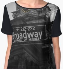 Broadway sign Women's Chiffon Top