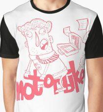 Mr. Wordsmith - Motorbike Graphic T-Shirt