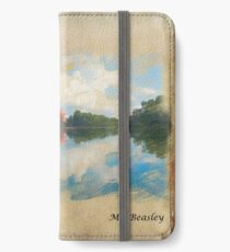 Castle Trakai in water colour effect. iPhone Wallet