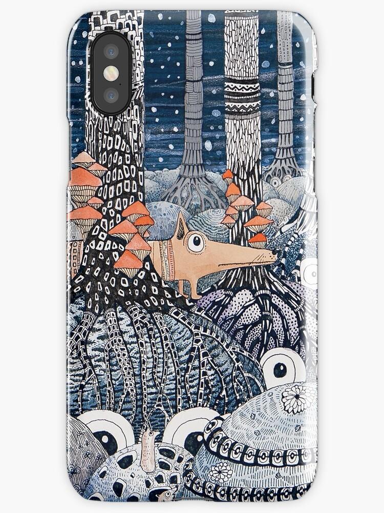 Owl Forest by Ruta Dumalakaite