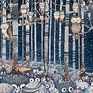 «Owl Forest» de Ruta Dumalakaite